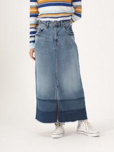 ロングデニムスカート