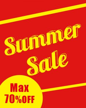 2017 SUMMER SALE MAX70%OFF