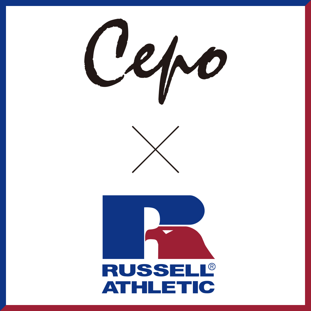 Cepo x RUSSEL コラボレーション