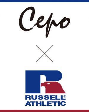 Cepo x RUSSELL 2018コラボアイテム