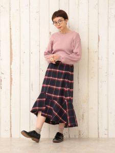 ポリチェック切替スカート