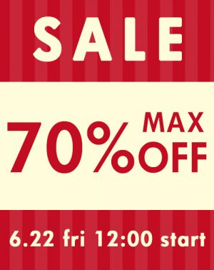 2018 SUMMER SALE MAX70%OFF