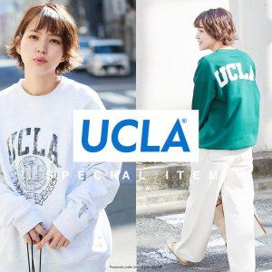 【web限定】UCLA別注商品販売スタート