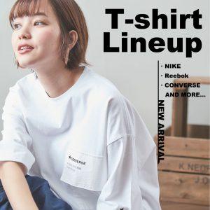 おうち時間を楽しむTシャツラインナップ